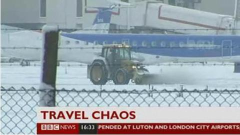 BBC News 24 - TRAVEL CHAOS