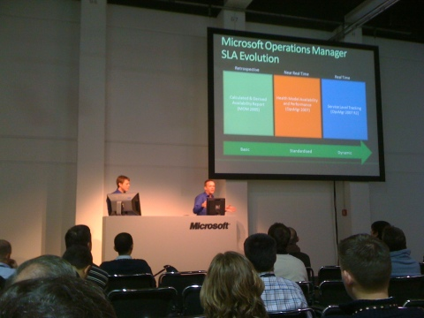 Gordon McKenna & Sean Roberts speaking at TechEd