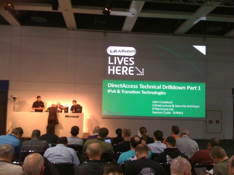 John Cradock presents DirectAccess Technical Drilldown, Part 1 of 2: IPv6 and Transition Technologies
